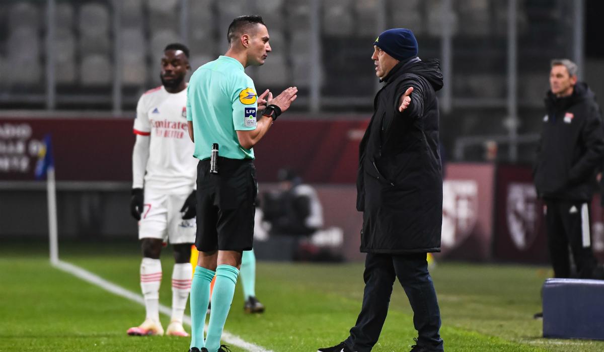 Metz-OL: Antonetti se paye Garcia après un accrochage