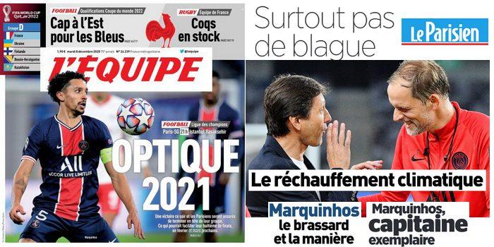 Revue de presse PSG : Basaksehir, LDC, Tuchel, Leonardo, Marquinhos, 34.3M€…