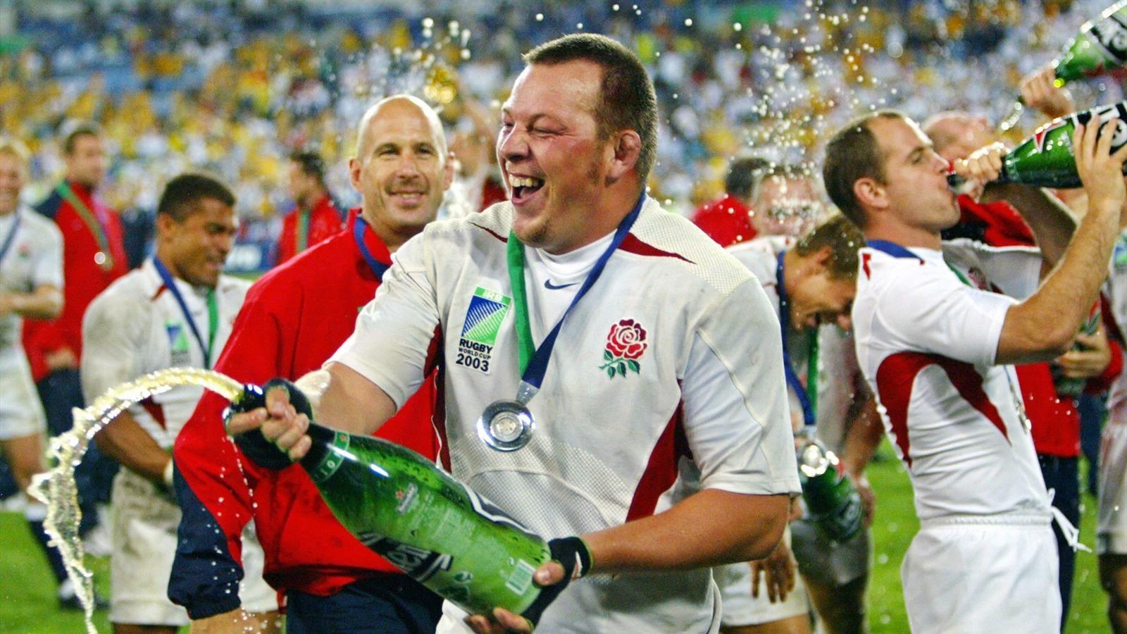 Steve Thompson «ne se souvient pas» d'avoir remporté la Coupe du monde