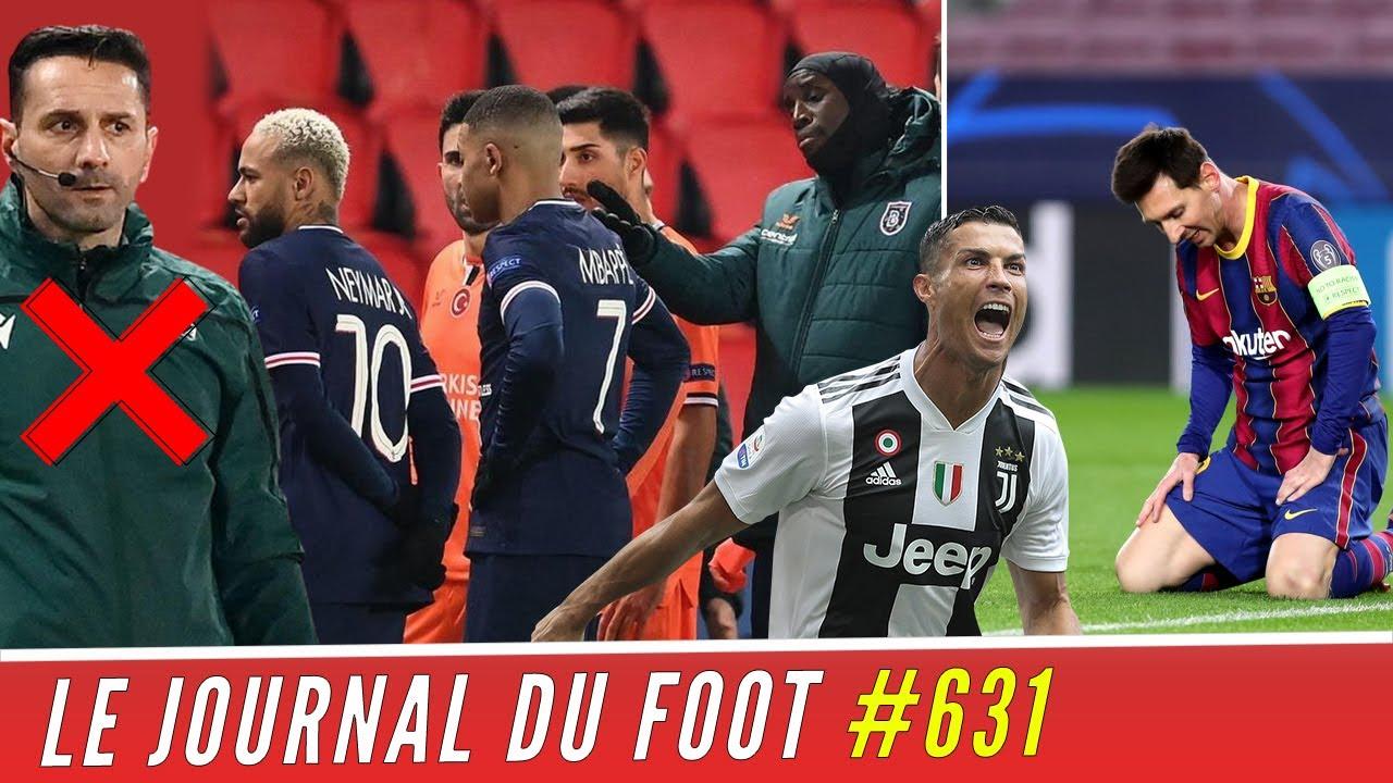 Les joueurs du PSG et ISTANBUL unis contre le racisme, RONALDO met le BARÇA de MESSI à terre !