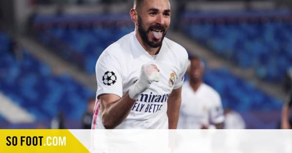 Karim Benzema, une histoire sans F1 / C1 / Gr. B / Real Madrid-Borussia Mönchengladbach (2-0) / SOFOOT.com