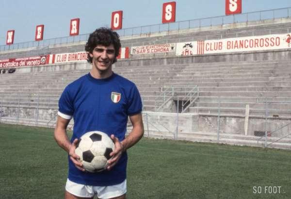 Paolo Rossi, l'homme qui fit pleurer (tout) le Brésil
