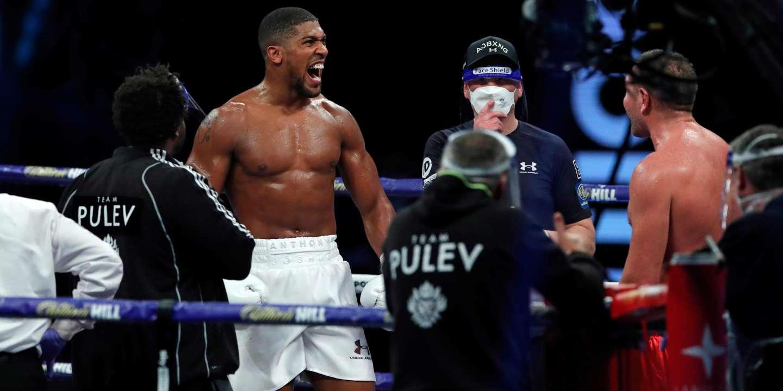Boxe : Anthony Joshua reste champion du monde poids lourds