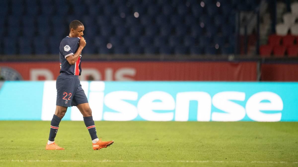 PSG : Abdou Diallo sort sur blessure