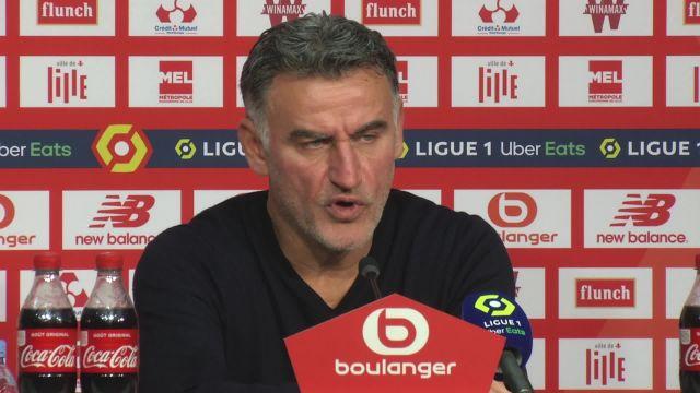 Christophe Galtier (Lille) après la victoire contre Bordeaux : « On a manqué de justesse »