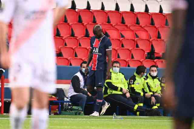 Danilo Pereira (PSG) sorti sur blessure contre Lorient