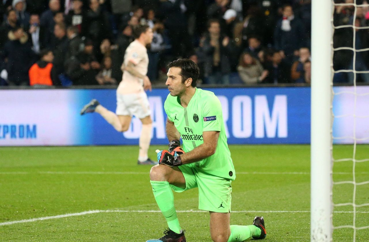 PSG : Buffon ressasse «trois ou quatre fois par semaine» le cauchemar face à Manchester United