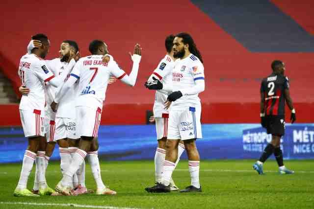 Vainqueur à Nice, l'OL prend la tête et met la pression sur Lille et le PSG