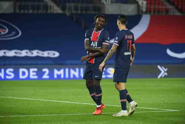 La composition du PSG à Lille sans Mbappé mais avec un duo Kean-Di Maria en attaque