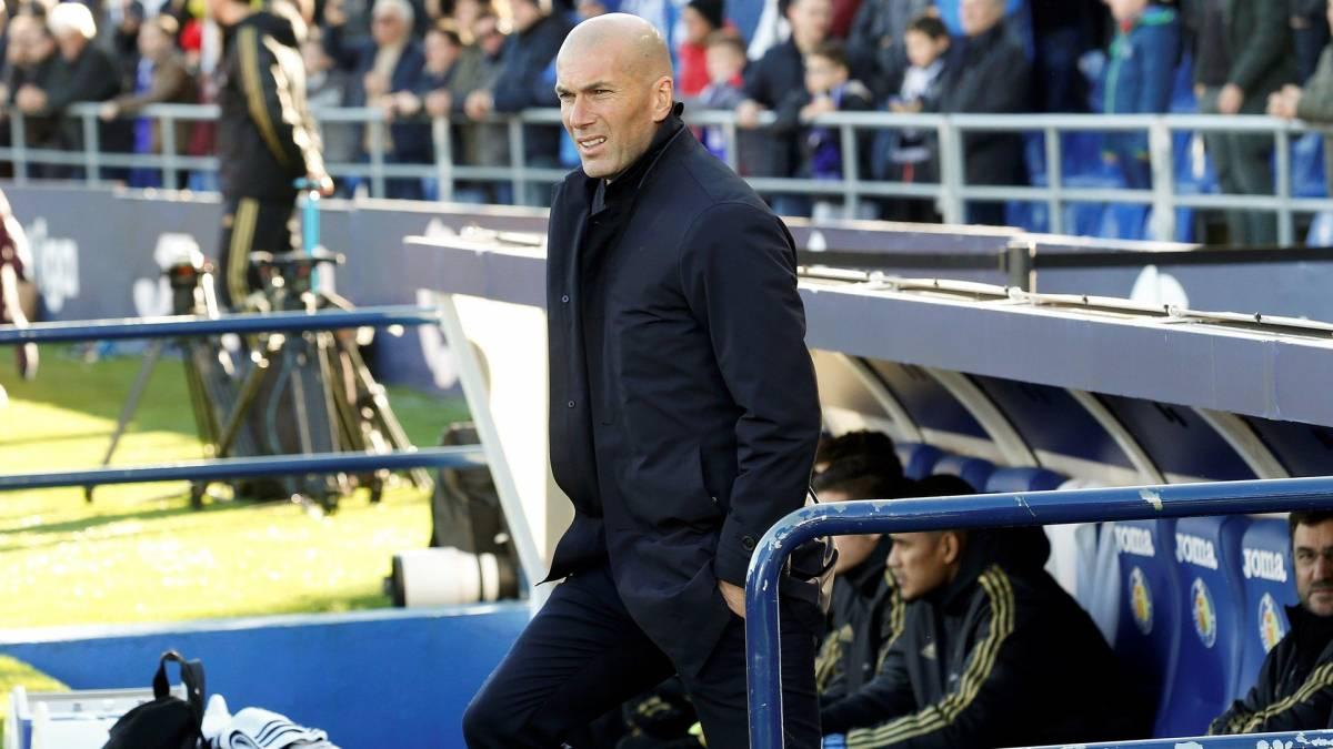 Zinedine Zidane sacré meilleur entraîneur de Liga selon Marca