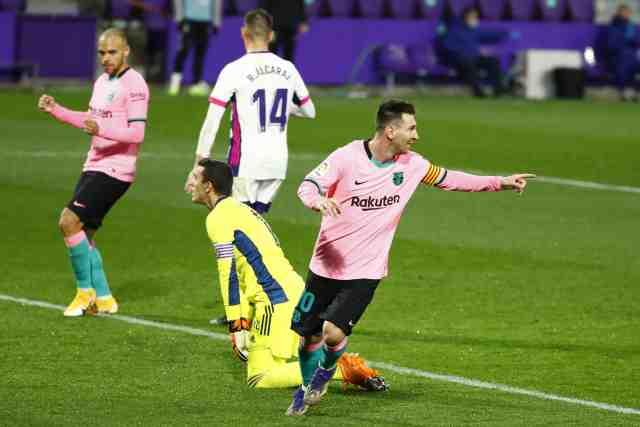Avec 644 buts sous le maillot du Barça, Lionel Messi bat le record de Pelé