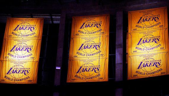 LA Lakers : pas de public ? Pas de bannière !
