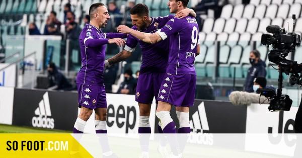 La Juve giflée par la Fio / Serie A / J14 / Juve-Fio (0-3) / SOFOOT.com