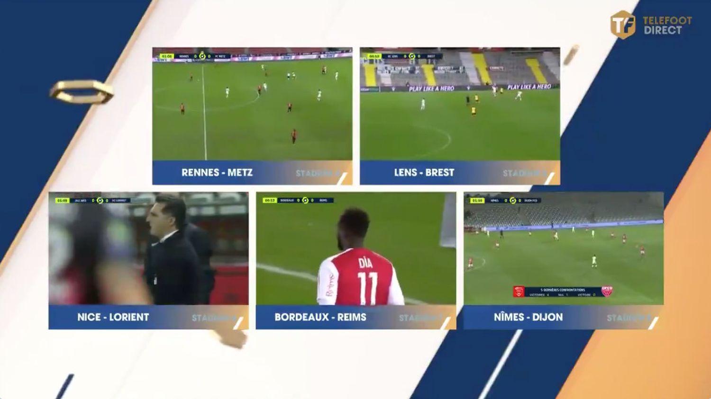 Ligue 1 : les salariés de la chaîne Téléfoot observent une minute de silence à l'antenne face au «mépris» de M