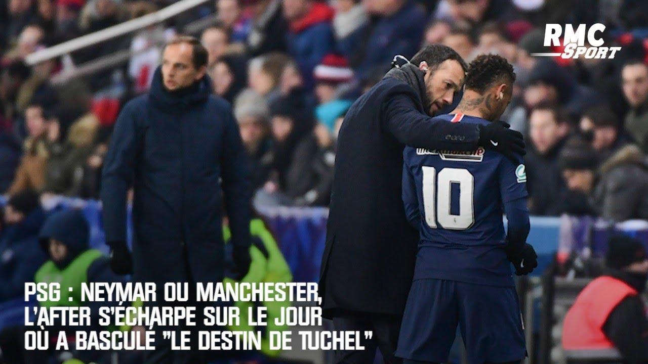 PSG : Neymar ou Manchester United, l'After s'écharpe sur le jour où a basculé «le destin de Tuchel»