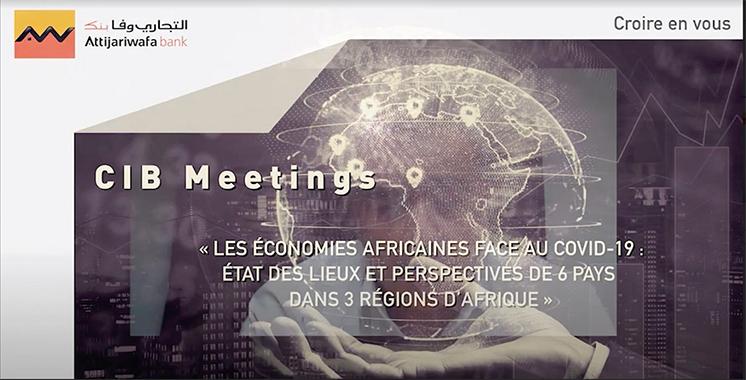 Economies africaines face à la Covid-19 : Digital CIB Meetings débat des perspectives  de six pays de la région