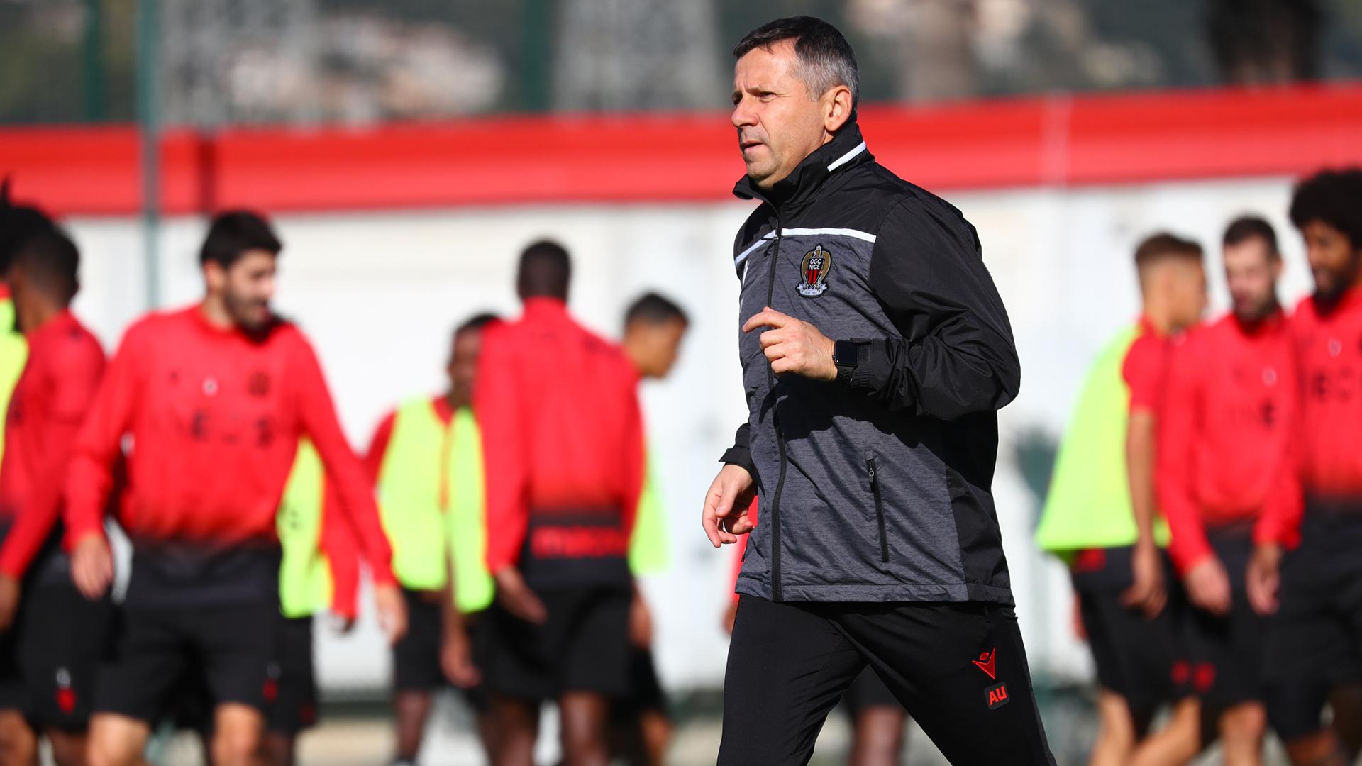Nice : Vieira remplacé par Adrien Ursea