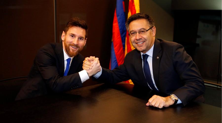Messi, le coup de gueule de Bartomeu