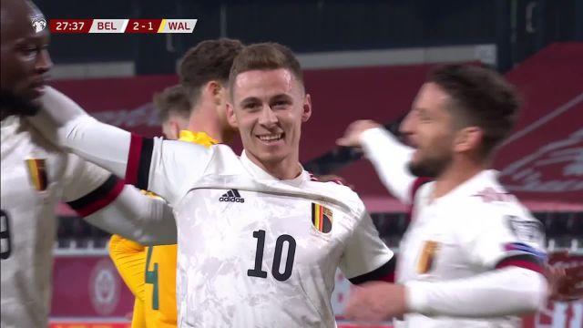 La Belgique s'impose facilement contre le pays de Galles