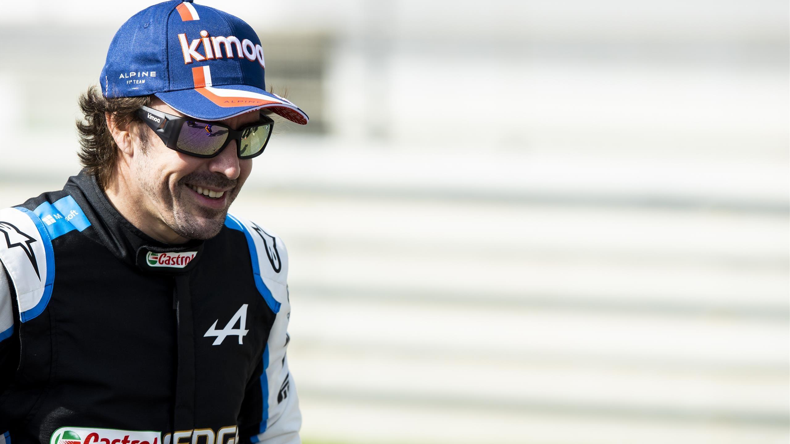 Fernando Alonso (Alpine F1) s'estime «meilleur» qu'Hamilton, Verstappen et Vettel