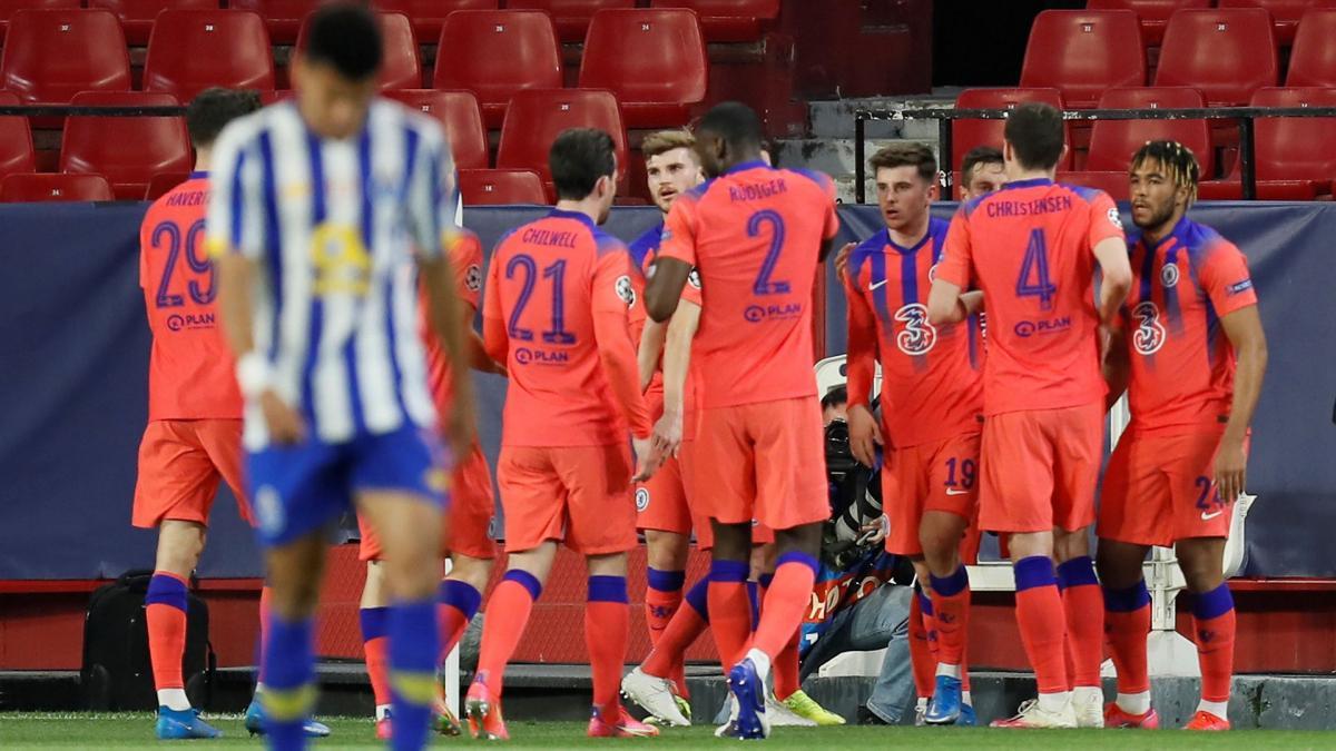 Ligue des Champions : Chelsea prend le meilleur sur le FC Porto dans la première manche