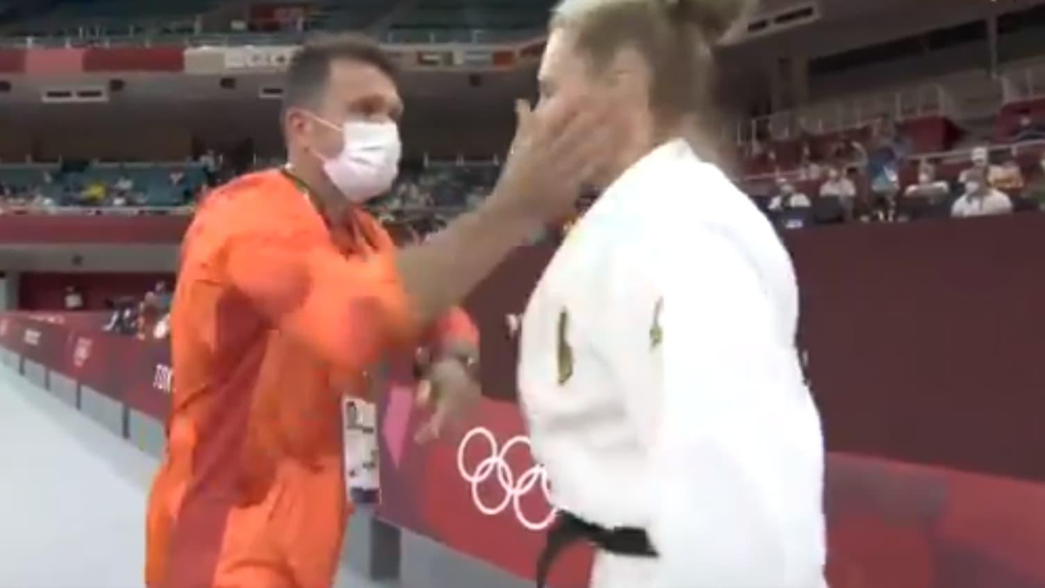 JO 2021 (judo): le coach allemand qui a giflé sa judoka pour la motiver écope d'un «avertissement»