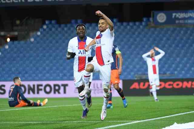 Un PSG très remanié s'impose à Montpellier en Ligue 1