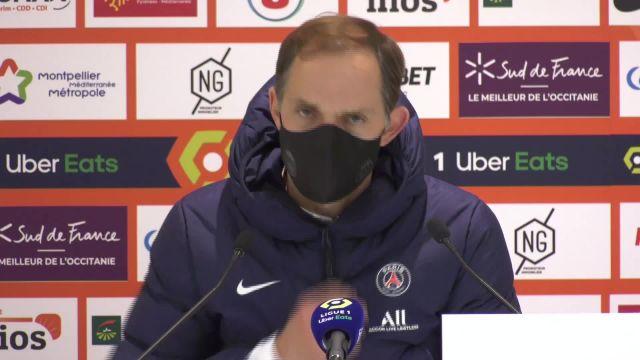 Thomas Tuchel (PSG) après Montpellier : « Important qu'on accepte de souffrir »