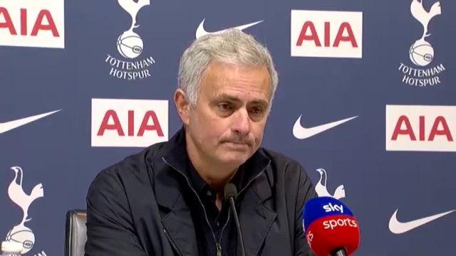 José Mourinho (Tottenham) : « Kane et Son sont des joueurs de classe mondiale »