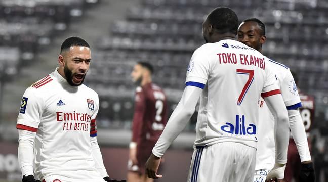 Metz-OL: Les Lyonnais étalent leur force offensive… Vivement le PSG la semaine prochaine…