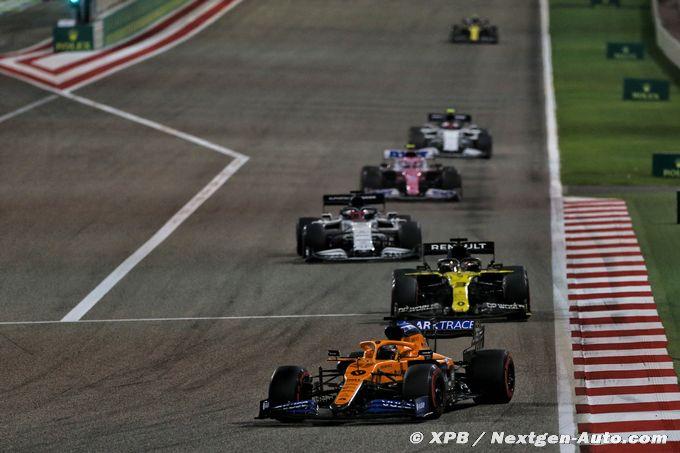 McLaren F1 a perdu plus qu'un podium à Sakhir -Auto.com