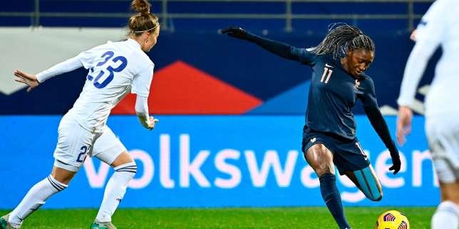 Qualifications de l'Euro-2022: les Bleues atomisent le Kazakhstan