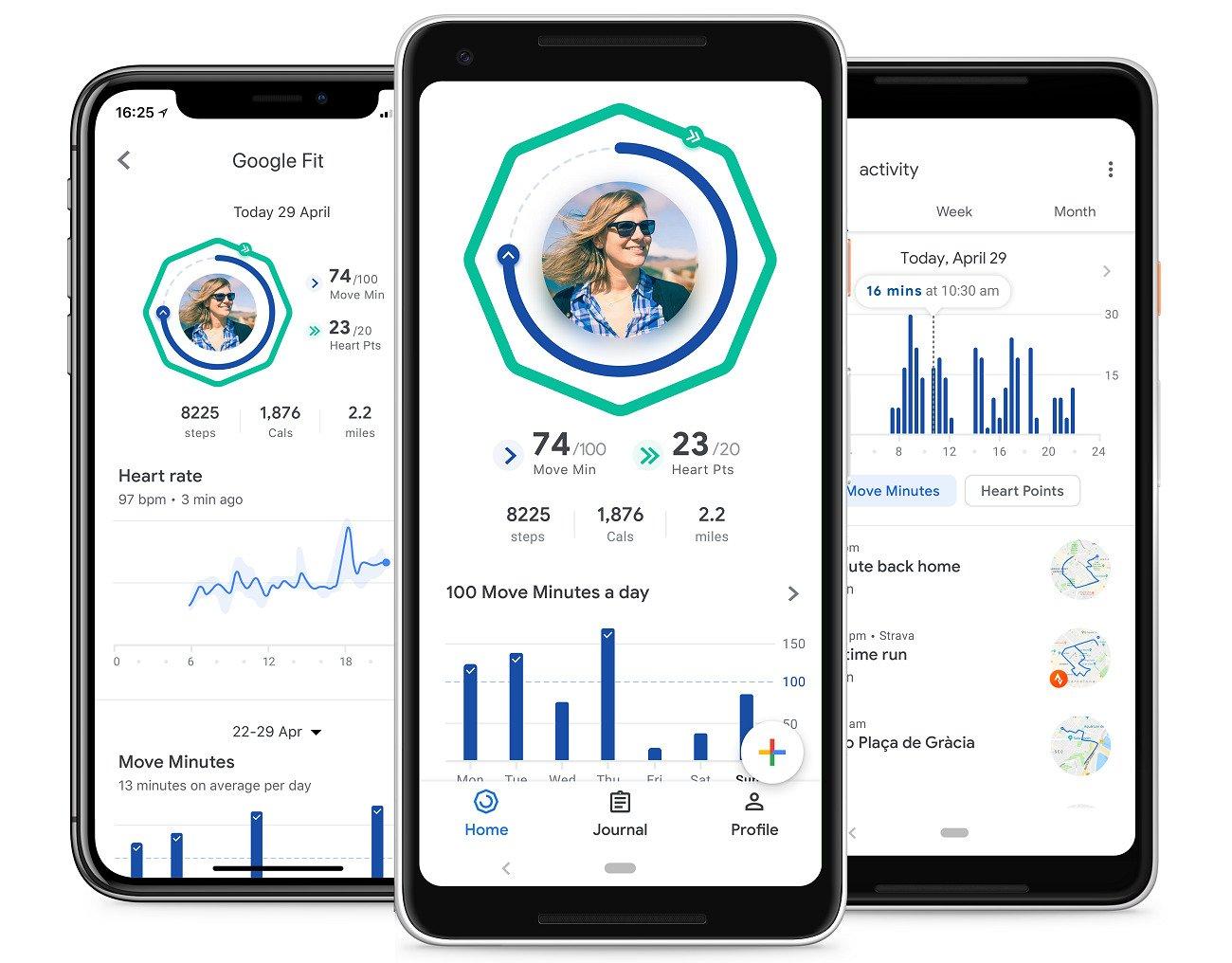 Google Fit se refait une beauté pour mettre en avant vos informations de santé