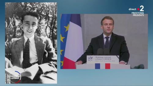REPLAY. Hommage national à Daniel Cordier: «Cher Daniel, la flamme que vous avez allumée avec vos compagnons ne s'éteindra pas», déclare Emmanuel Macron