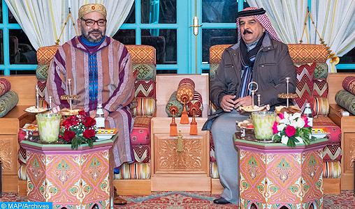 Entretien téléphonique entre le Roi Mohammed VI et le Roi du Bahreïn