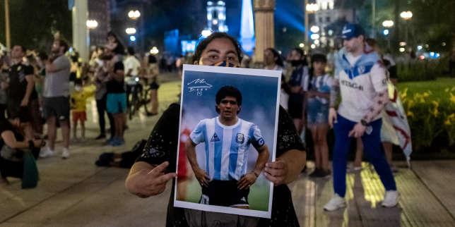 L'Argentine pleure le «Pibe de Oro», Diego Maradona
