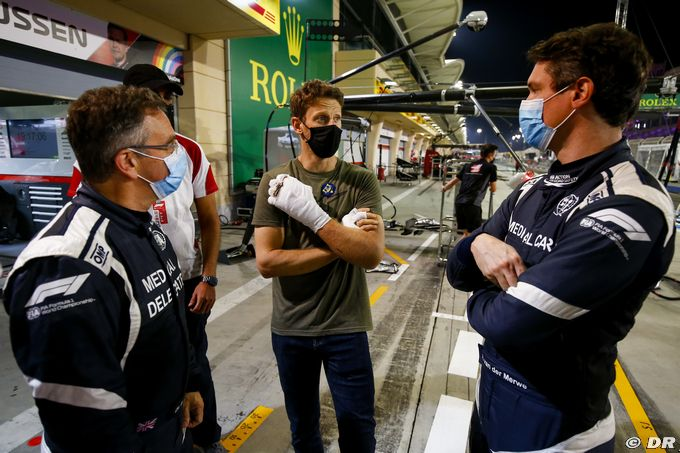 Grosjean : Mon coup de volant à droite n'était pas trop fou -Auto.com