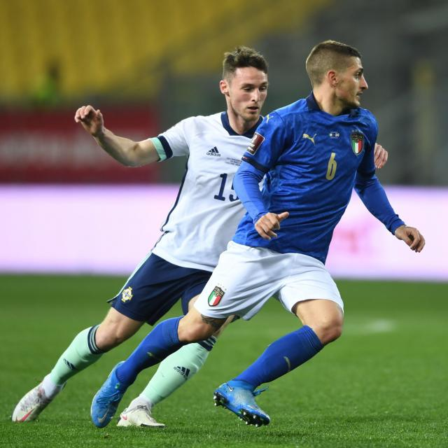 Une liste de 28 Italiens avec Marco Verratti mais sans Moise Kean pour l'Euro