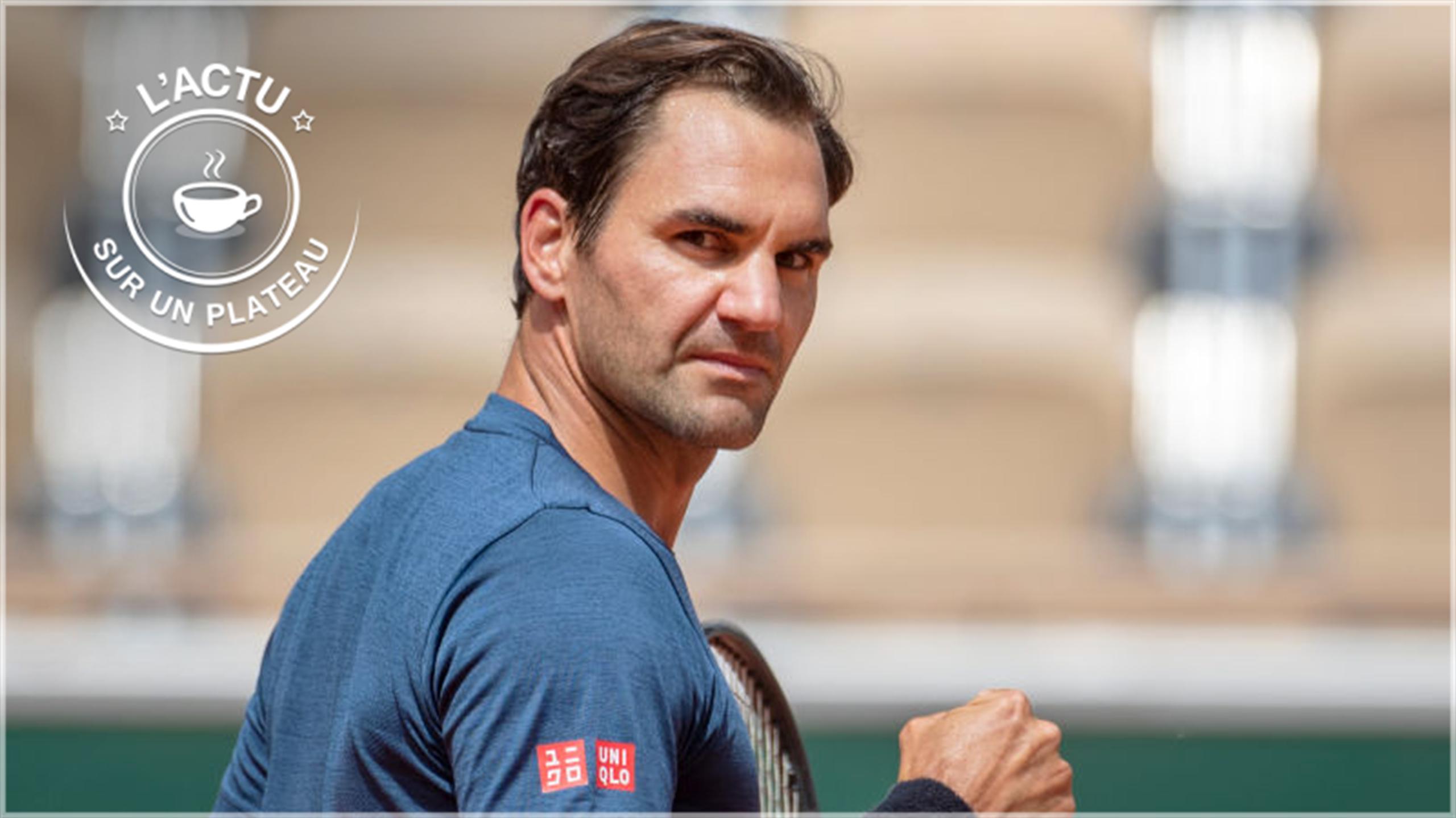 Retour de Federer, déception de Brest, Bleuets en quart : L'actu sur un plateau du 31 mai 2021