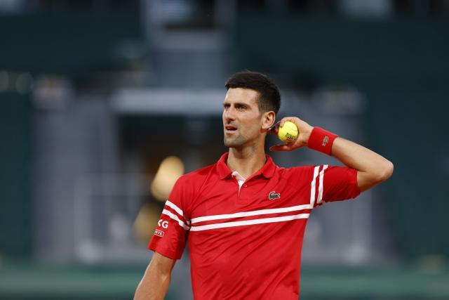 Novak Djokovic écarte Tennys Sandgren et rejoint le 2e tour à Roland-Garros