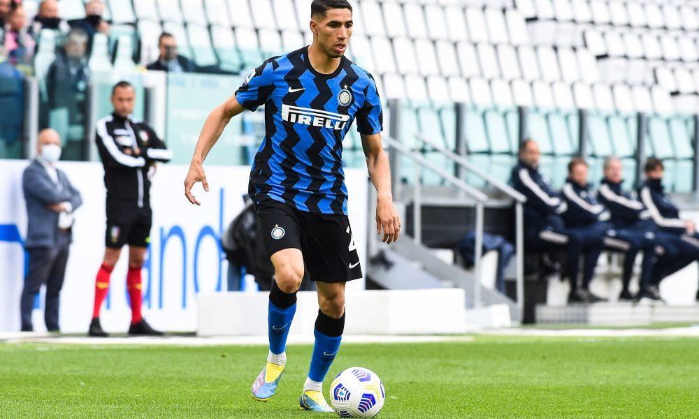 Mercato – L'Inter Milan veut 70 millions d'euros pour Hakimi, la presse italienne insiste