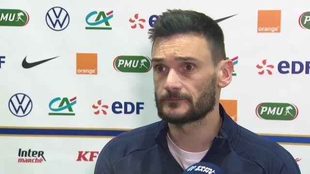 Lloris : «On a tous demandé à l'arbitre de ne pas expulser le joueur gallois» pendant France