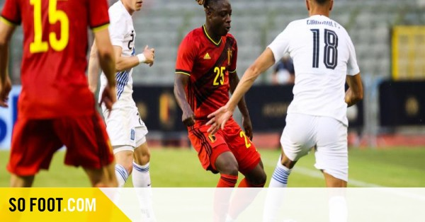 La Belgique bute sur la Grèce / Amical / Belgique-Grèce (1-1) / SOFOOT.com