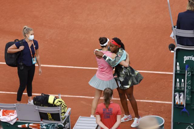 Jennifer Brady abandonne, Cori Gauff en huitièmes de finale de Roland-Garros