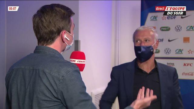 Didier Deschamps répond à Olivier Giroud : « Si les ballons arrivaient à chaque fois… »