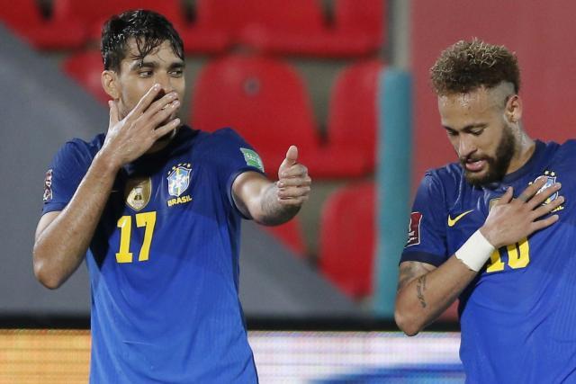 Composition du Brésil : Neymar, Paqueta et Marquinhos titulaires face au Venezuela