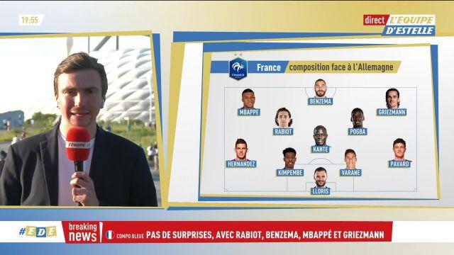 Sissoko, Thuram et Dubois seront en tribunes pour le premier match des Bleus à l'Euro contre l'Allemagne