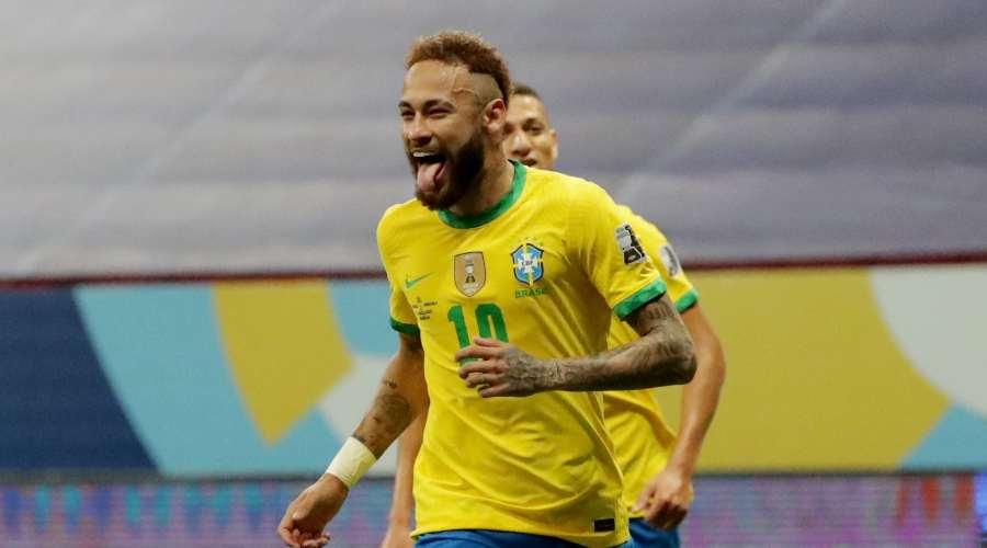 La démonstration de Neymar et du Brésil