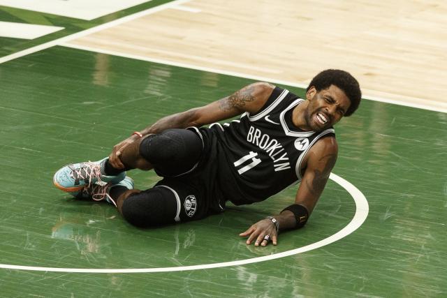 Kyrie Irving, le meneur des Brooklyn Nets, forfait pour le match 7 face aux Milwaukee Bucks
