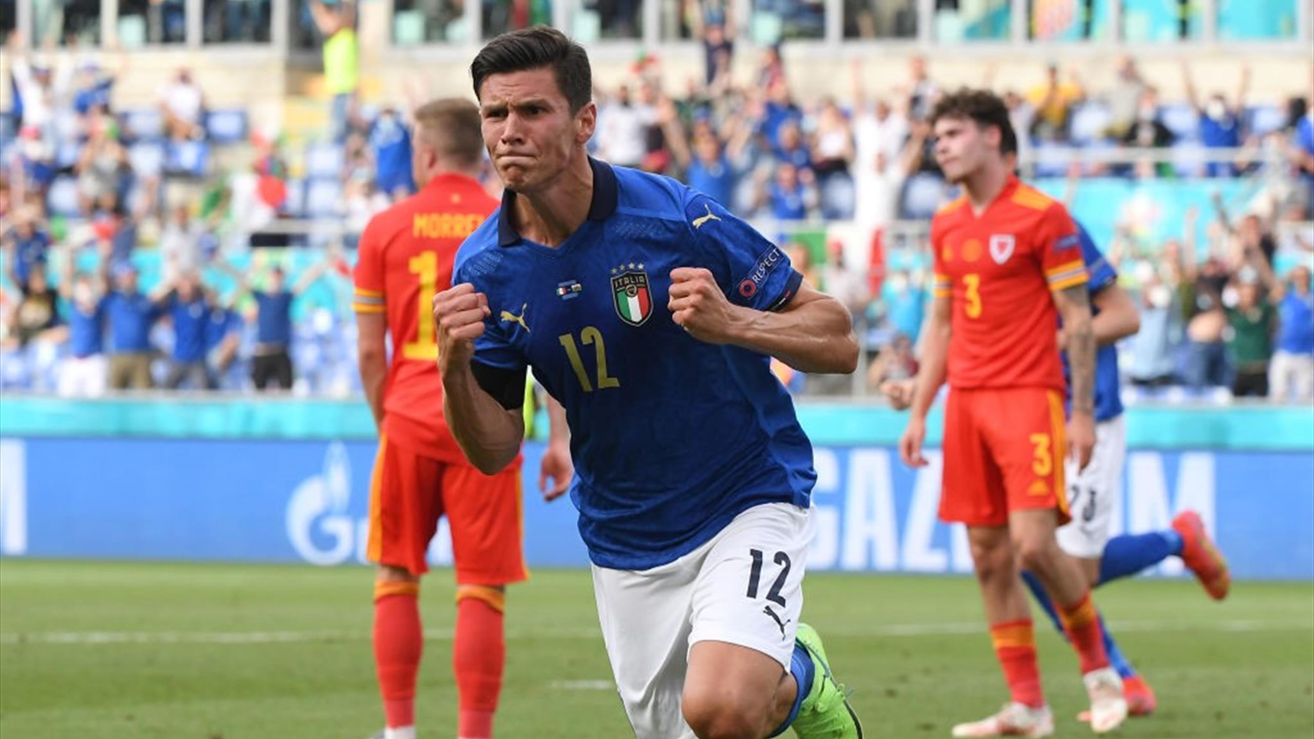 Euro 2020 : L'Italie poursuit son sans-faute contre le Pays de Galles (1-0), également qualifié